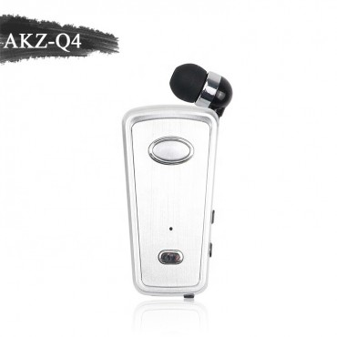 Ασύρματο Ακουστικό Bluetooth akz-q4 - άσπρο
