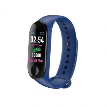Smart Band Ρολόι με Bluetooth - M4 - blue