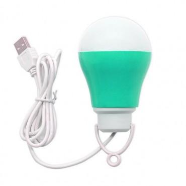 LED usb λάμπα green