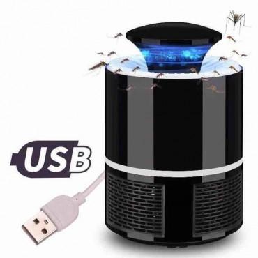 Σύστημα Εξολόθρευσης Κουνουπιών USB με Ανεμιστήρα και Φωτισμό LED – Mosquito Killer