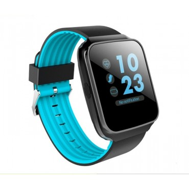 Smartwatch - Bluetooth z40 black-blue