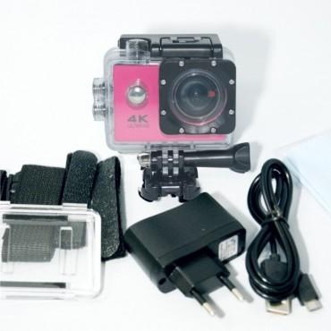 Αδιάβροχη action camera ac-002 pink