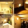 3 LED Ασύρματα Σποτάκια Εσωτερικού Χώρου με Τηλεχειριστήριο 24001