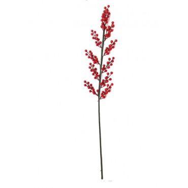 Διακοσμητικό κλαδί γκι 70cm