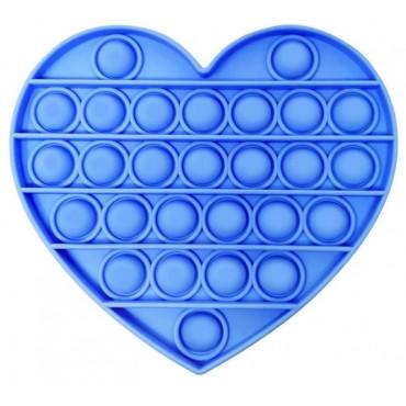 Pop It Παιχνίδι Στρες Ανακούφισης Παζλ Bubble Sensory Decompression heart