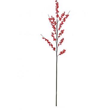 Διακοσμητικό κλαδί γκι 105cm