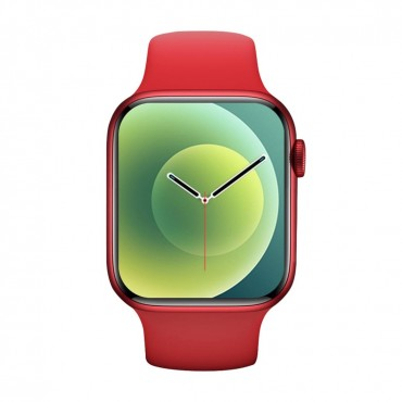 Smartwatch-Bluetooth-Κλήσεις-Ελληνικό menu ak76 (red)
