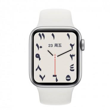 Smartwatch-Bluetooth-Κλήσεις-Ελληνικό menu ak76 (white)