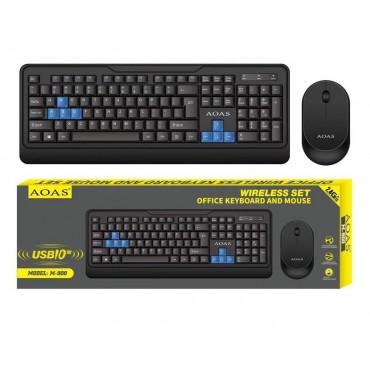 Ασύρματο πληκτρολόγιο και ποντίκι - aoas m-900