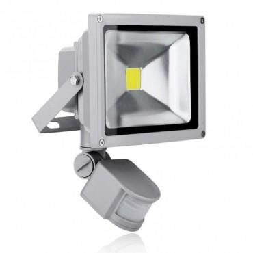 Προβολέας LED 30w και Ανιχνευτή Κίνησης