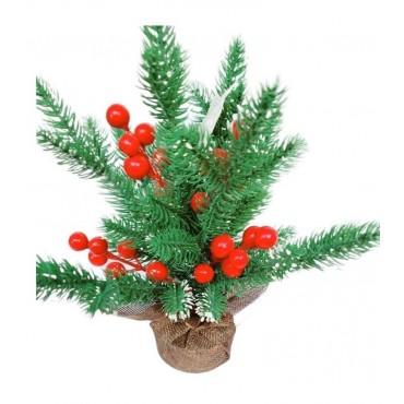 Χριστουγεννιάτικο διακοσμητικό φυτό 23cm