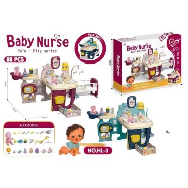 Baby nurse με φως μουσική hl-3