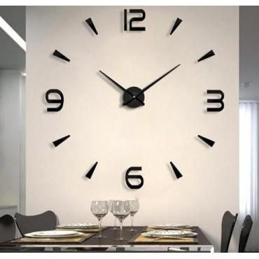 Μεγάλο τρισδιάστατο ρολόι τοίχου