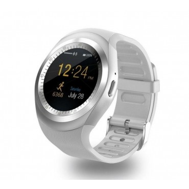 Smartwatch - bluetooth - sim Y1 (γκρι)