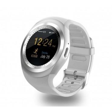 Smartwatch - bluetooth - sim Y1 (γκρι)