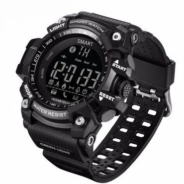 Smartwatch - bluetooth-waterproof  ex16(Black)