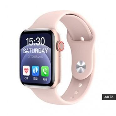 Smartwatch-Bluetooth-Κλήσεις-Ελληνικό menu ak76 (pink)