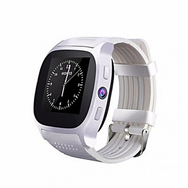 Smartwatch -bluetooth - camera - sim t8 (white)