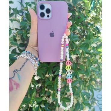 Διακοσμητικό βραχιόλι κινητού με χάντρες