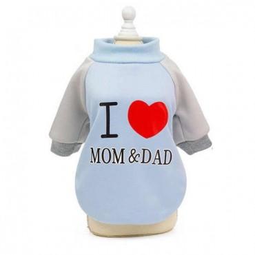 ΦΟΥΤΕΡ ΓΑΛΑΖΙΟ I LOVE MOM AND DAD