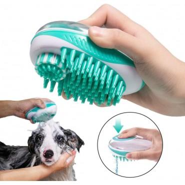 Κύπελλο - Βούρτσα Σιλικόνης Καθαρισμού Σκύλων