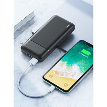 Remax rpp-166 Power Bank 20000mAh (Μαύρο)