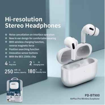 Remax bt900 Wireless Bluetooth 5.0 Stereo Earbuds with Charging Box