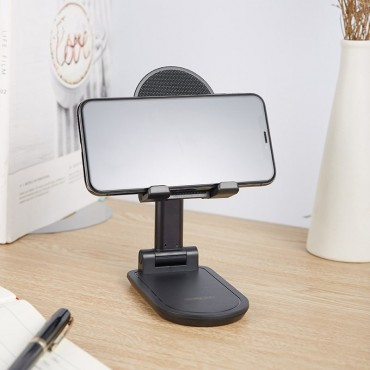 Επιτραπέζια Βάση Κινητού / Tablet μαύρο remax ch-13