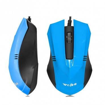 Ενσύρματο ποντίκι weibo fc-201 blue