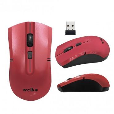 Ασύρματο ποντίκι weibo fc-2819 red