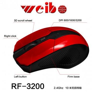 Ασύρματο ποντίκι weibo fc-3200 black