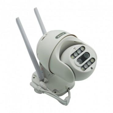 Αδιάβροχη ασύρματη IP 2k κάμερα με ανιχνευτή κίνησης Andowl Q-S2I