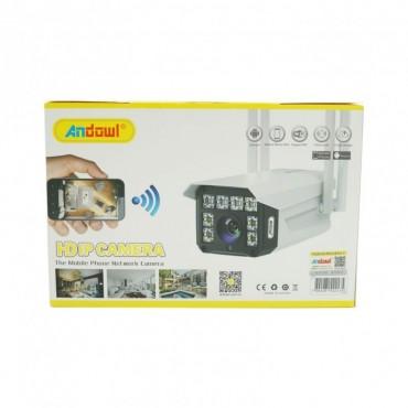 Εξωτερική-αδιάβροχη 5G κάμερα ασφαλείας 5.0MP wifi Andowl Q-S30
