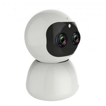 IP Κάμερα Τύπου Θόλος 2K 360º WiFi Android/iOS & Αναγνώριση Προσώπου Andowl Q-S2099 – Λευκό