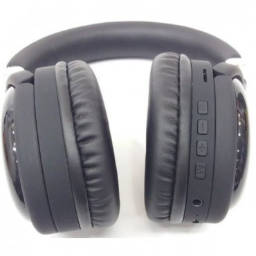 Ασύρματα Ακουστικά Headset Bluetooth + FM Radio Moxom Neon Beat MX-WL14 - Black