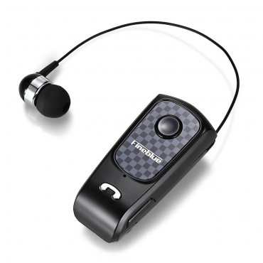 Bluetooth Fineblue F-Plus - Ασύρματα Ακουστικά Clip-On Wireless Headset (Μαύρο)