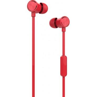 Ακουστικά με Μικρόφωνο Yookie YK810 (Κόκκινο)