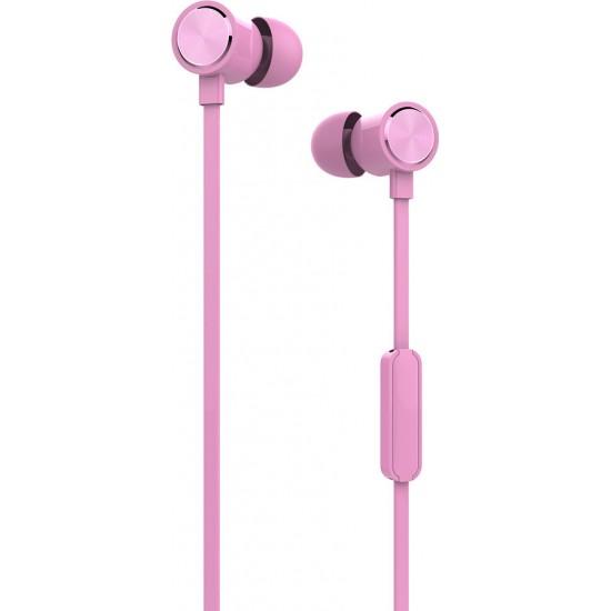 Ακουστικά με Μικρόφωνο Yookie YK810 (Pink)