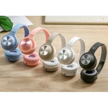 EXTRA BASS Στερεοφωνικά Ακουστικά gjby GJ-27 (Λευκό)