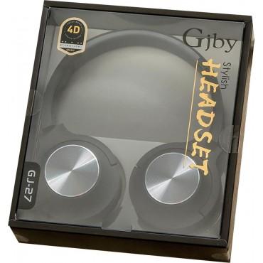 EXTRA BASS Στερεοφωνικά Ακουστικά gjby GJ-27 (Μαύρο)