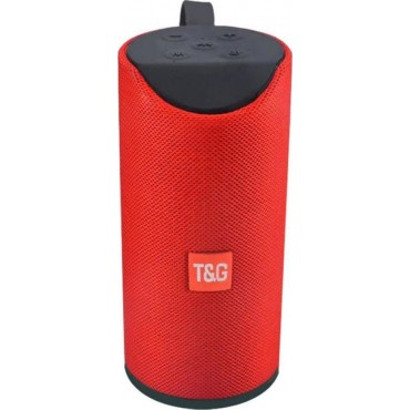 Φορητό Ηχείο T&G TG113 Wireless Bluetooth Speaker Portable Mini red