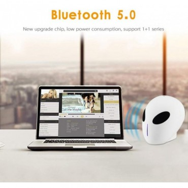Alien Φορητό Wireless Bluetooth Ηχείο x18 USB TF Card  (Μπλε)