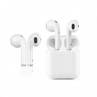 Ασύρματα Ακουστικά Bluetooth 5.0 Version – Λευκό – i8p  TWS