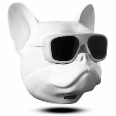 Aerobull Bulldog Bluetooth Speaker -  Ασύρματο Ηχείο  10W (Λευκό)