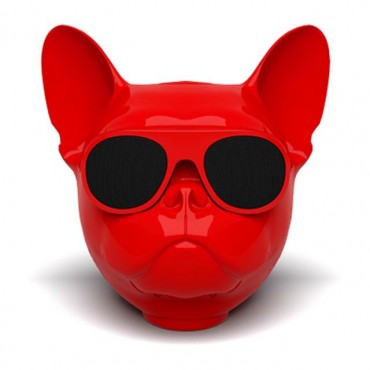 Aerobull Bulldog Bluetooth Speaker - Ασύρματο Ηχείο 10W (Κόκκινο)