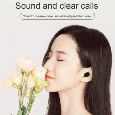 Ασύρματα Ακουστικά Earbuds Bluetooth v5.0 L21 TWS - Μαύρο