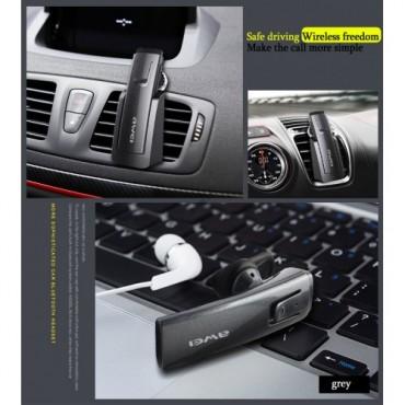 Ασύρματο ακουστικό Bluetooth αυτοκινήτου με βάση A 833BL AWEI