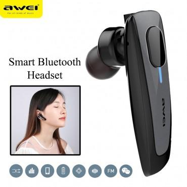 Ασύρματο Ακουστικό Bluetooth Awei N3 - Μαύρο