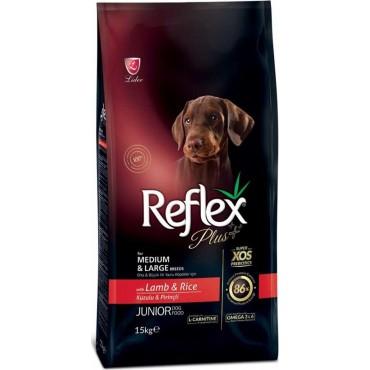 Reflex plus medium-large junior αρνί 3kg