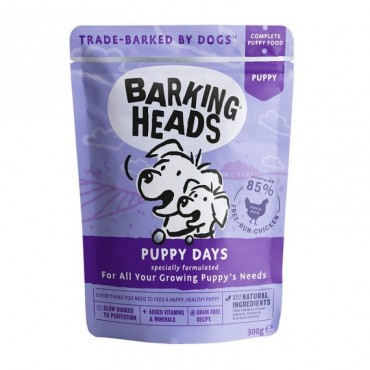 Barking Heads Wet Puppy Days (300gr)